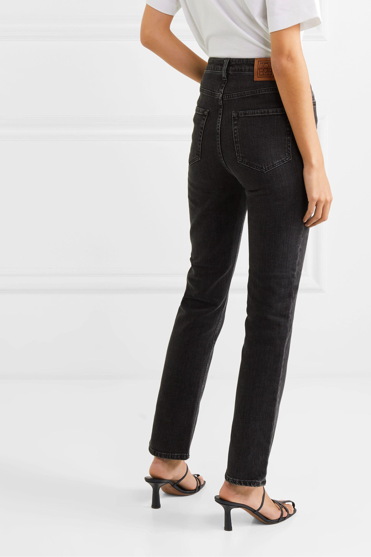 Totême Standard hoch sitzende Jeans mit geradem Bein