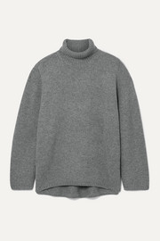Totême Cambridge oversized wool and cashmere-blend turtleneck sweater