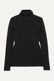 Navais merino wool turtleneck top