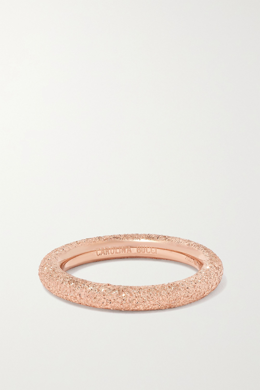 Carolina Bucci Florentine Ring aus 18 Karat Roségold