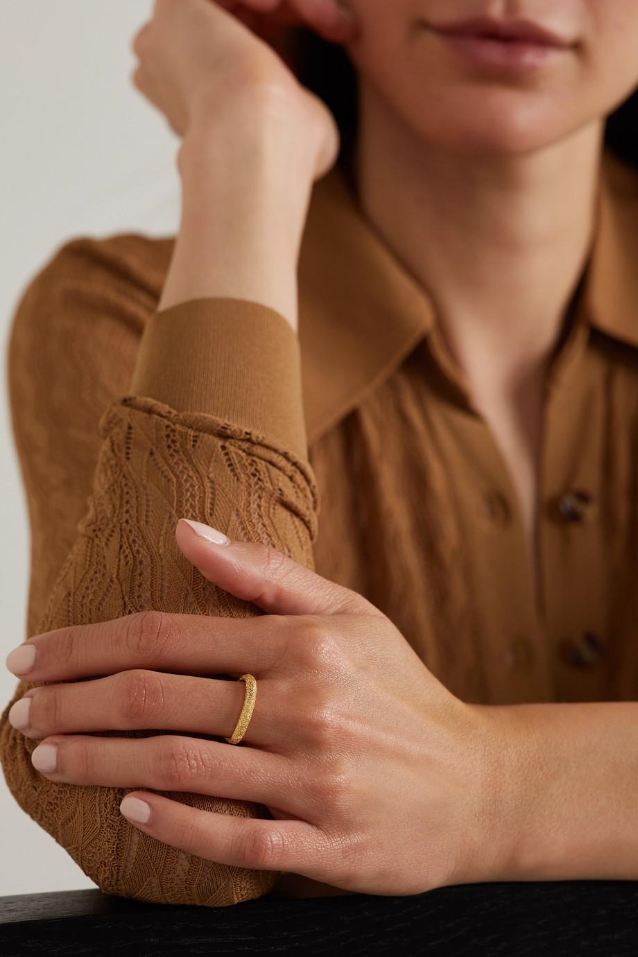 Carolina Bucci Florentine 18-karat gold ring