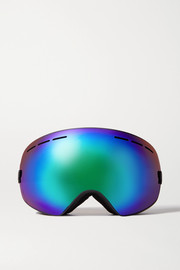 Mountain Mission mirrored ski goggles