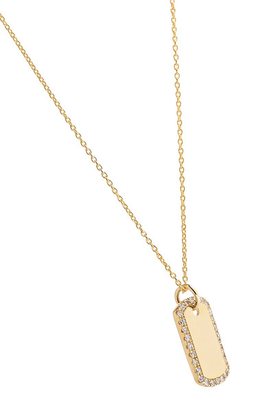 6cca032d3 STONE AND STRAND | 14-karat gold diamond necklace | NET-A-PORTER.COM