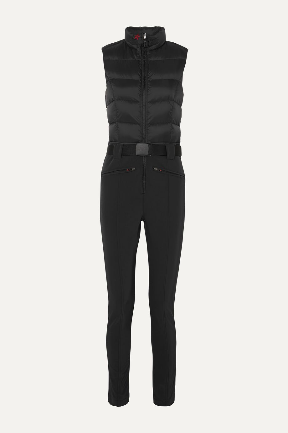 Perfect Moment Super Star belted quilted padded ski suit