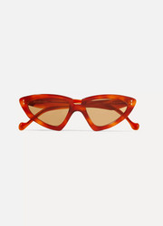Verona cat-eye tortoiseshell acetate sunglasses