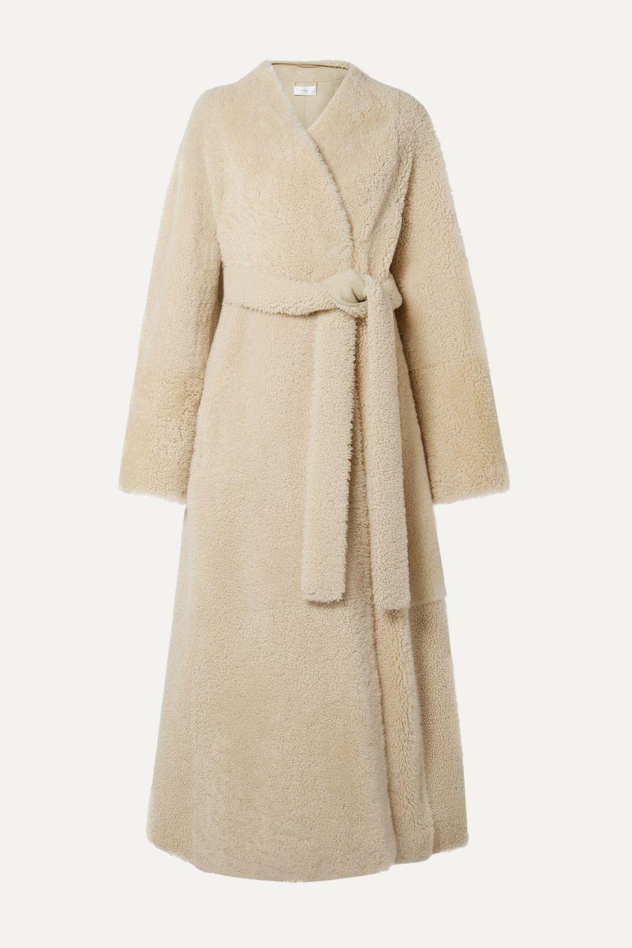The Row Tanilo shearling coat