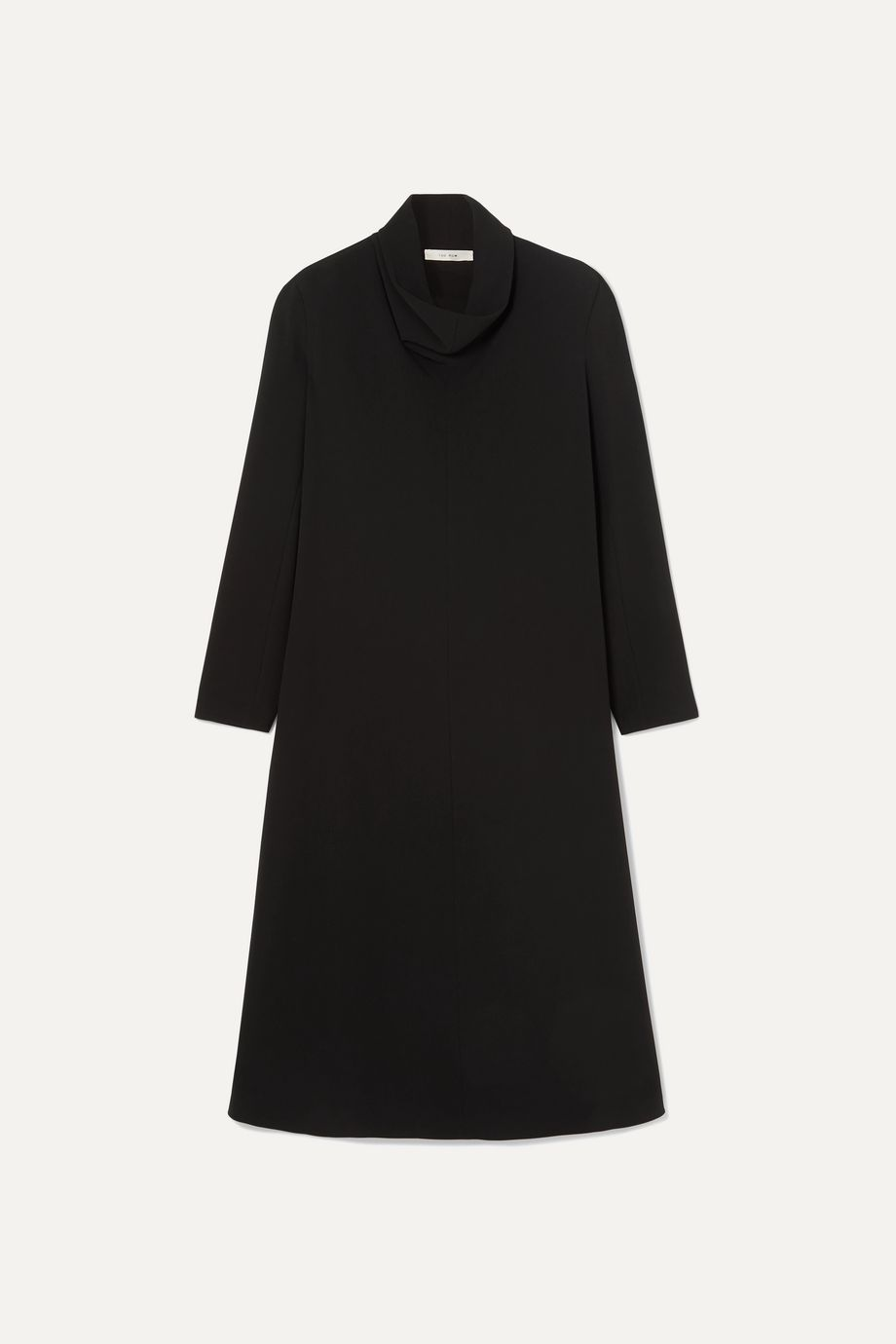 The Row Barbara stretch-crepe midi dress