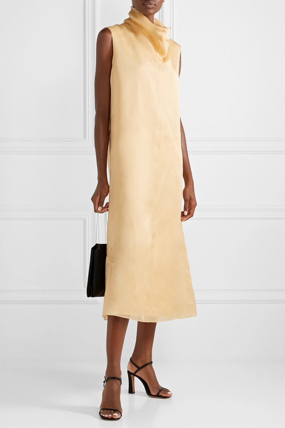 The Row Virginia silk-organza maxi dress