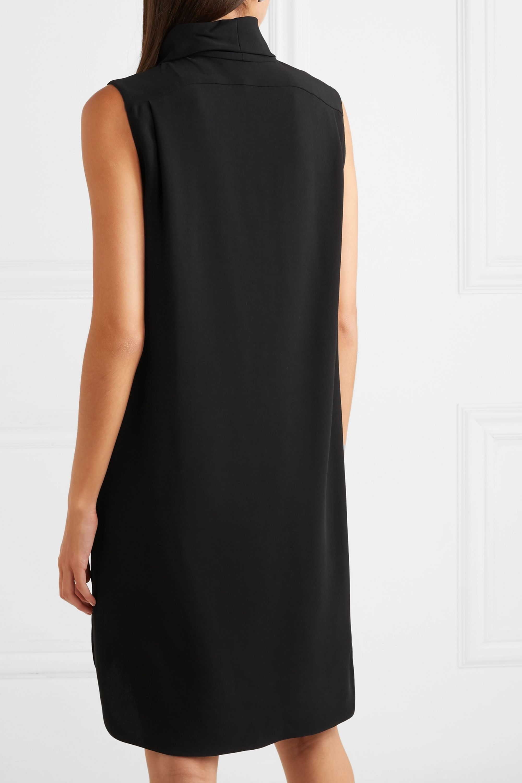 The Row Dorma cady turtleneck dress