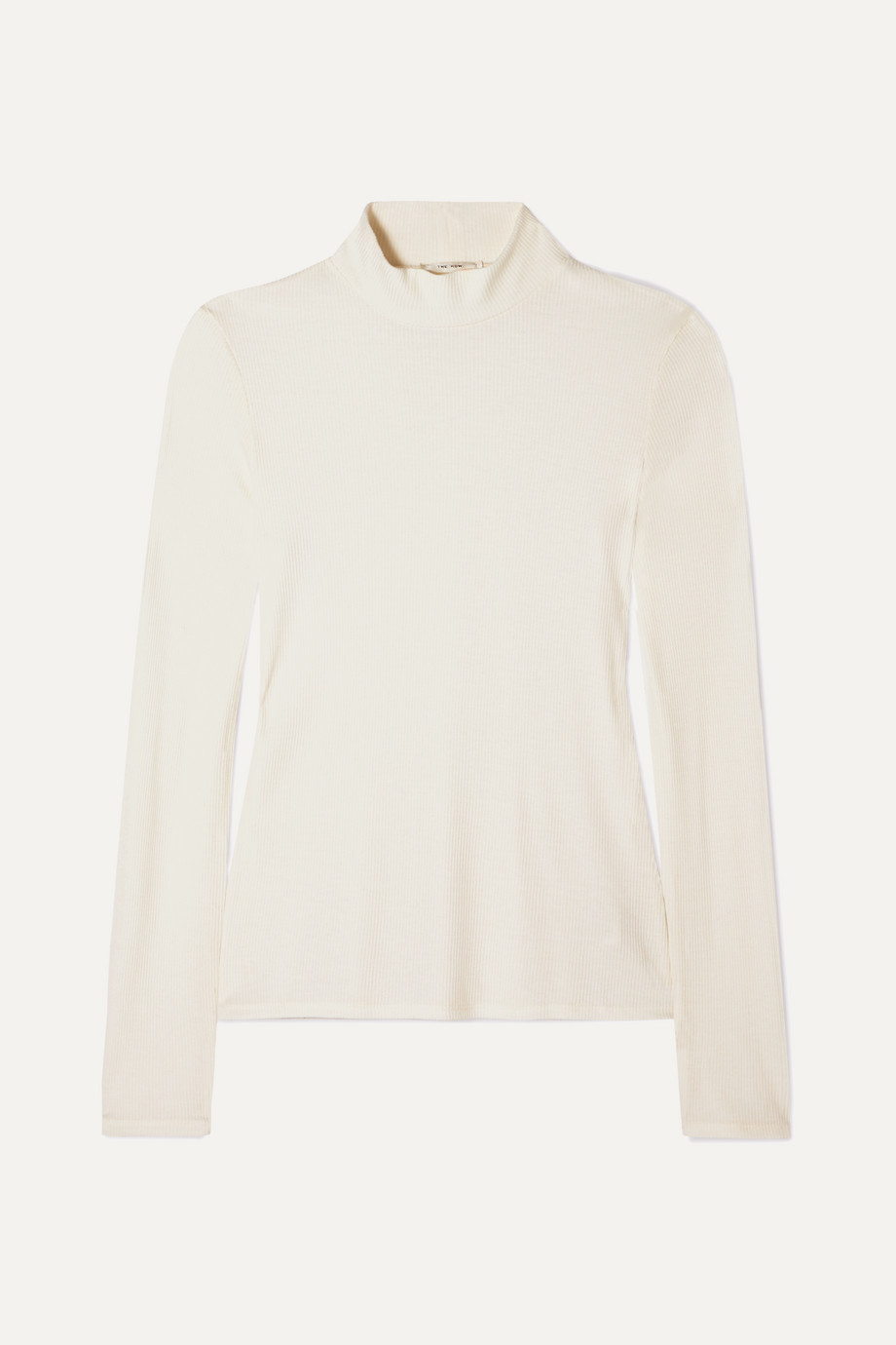 The Row Morsot ribbed-knit turtleneck sweater