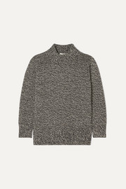 The Row Edmund mélange cashmere sweater