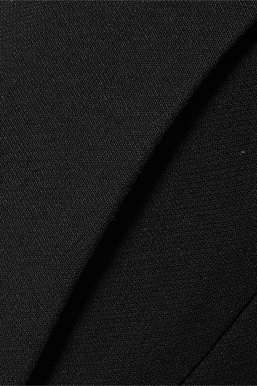 The Row Pantalon droit en laine et soie mélangées Ladan