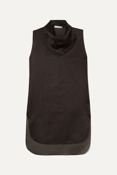 mora-draped-silk-organza-top by the-row