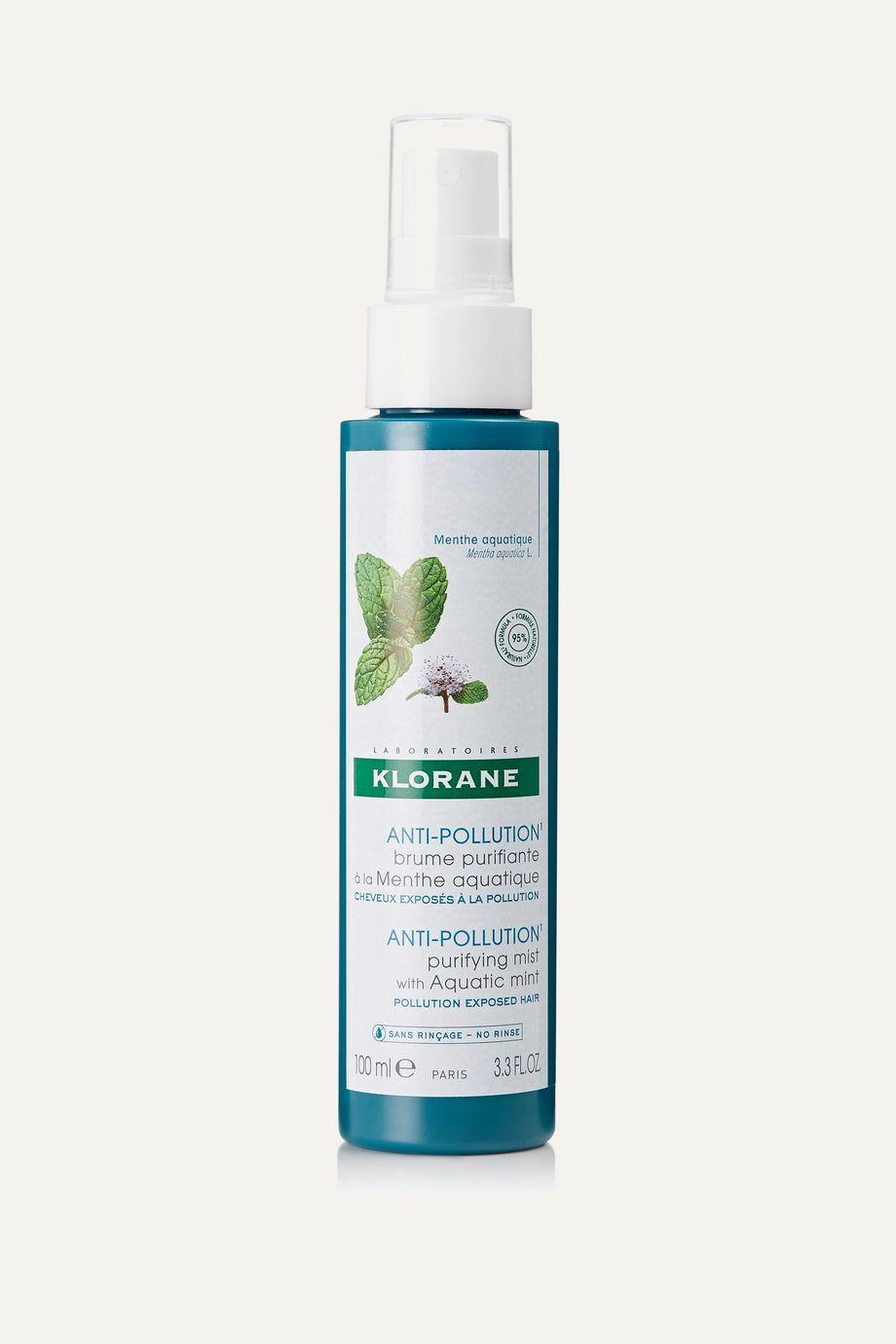 Klorane Anti-Pollution Purifying Mist With Aquatic Mint, 100ml