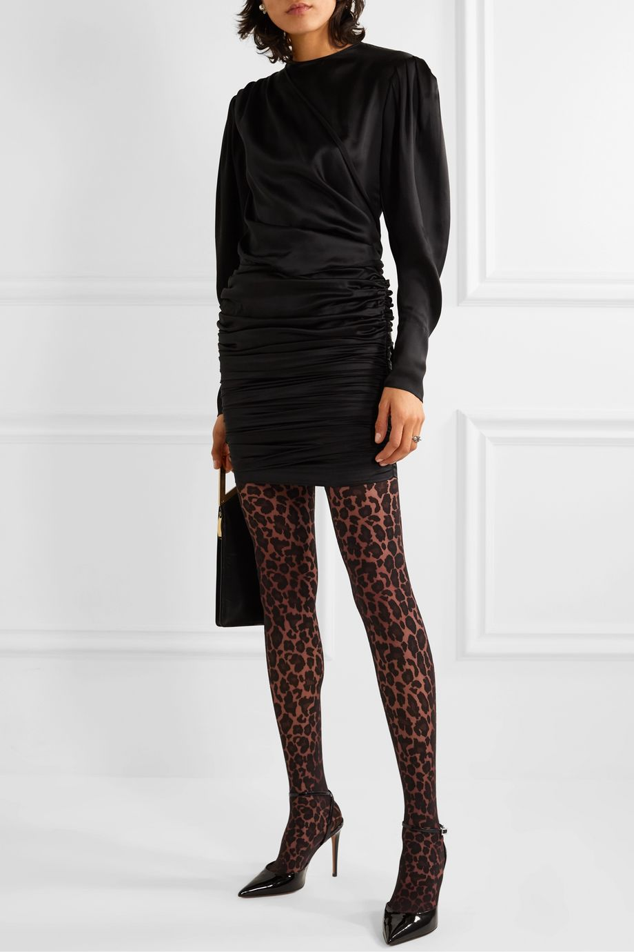 Wolford Leopard-print 20 denier tights