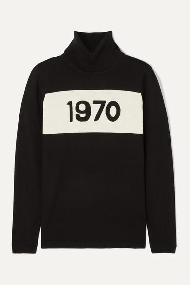 Bella Freud Tops 1970 wool turtleneck sweater