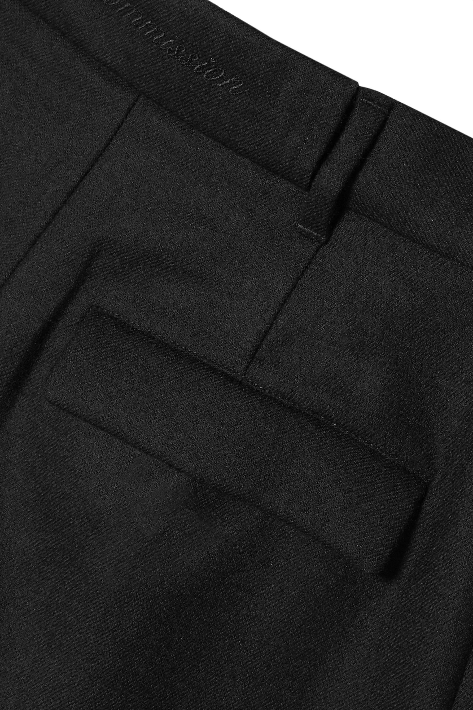 Commission Wool-twill straight-leg pants