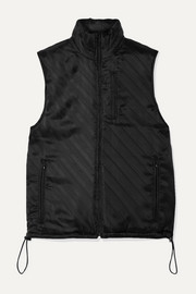 Commission Shell-jacquard vest