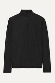 Stretch turtleneck top