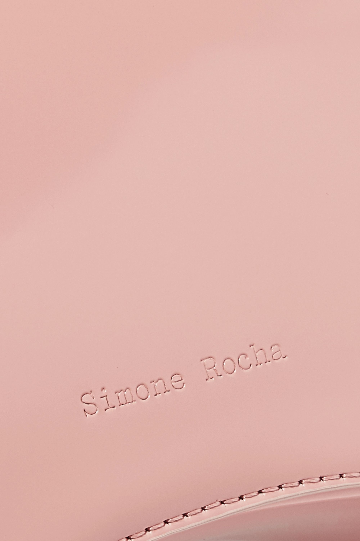 Simone Rocha Baby Bean leather tote