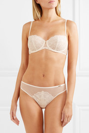 Chantelle Pyramide stretch-lace and tulle briefs