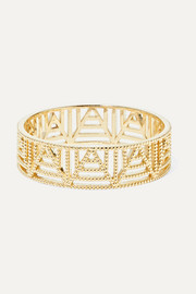 Lace Deco gold ring