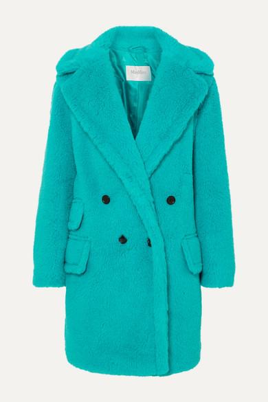 Max Mara Coats Adenia alpaca, wool and silk-blend coat