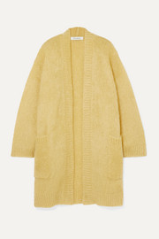 Sampang oversized mohair-blend cardigan