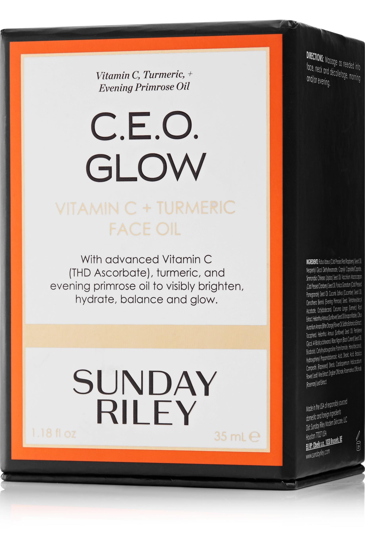Sunday Riley C.E.O. Glow Vitamin C + Turmeric Face Oil, 35 ml – Gesichtsöl