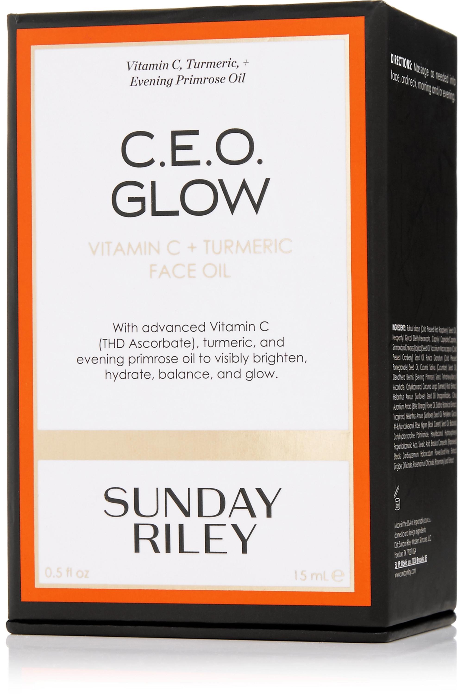 Sunday Riley C.E.O. Glow Vitamin C + Turmeric Face Oil, 15ml