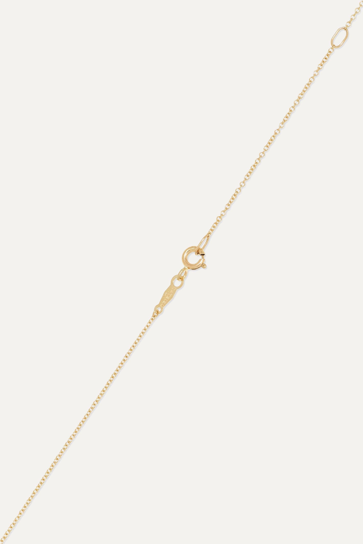 Catbird Smallest Love Letter 14-karat gold necklace
