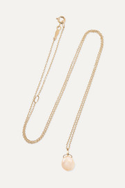 Catbird Mermaid's Treasure 14-karat gold pearl necklace