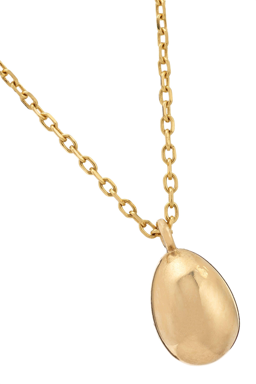 Catbird Swan Egg 14K 黄金项链
