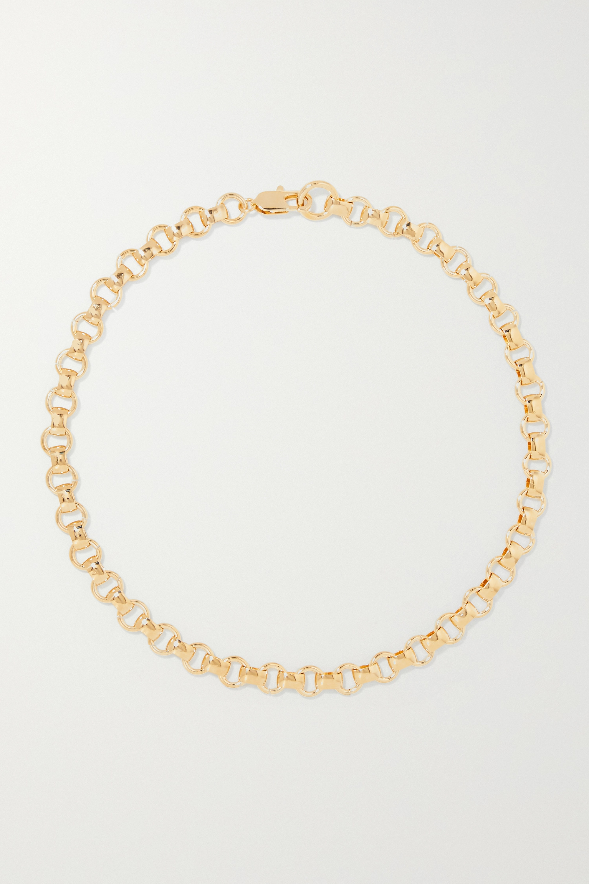 Laura Lombardi + NET SUSTAIN Franca gold-plated necklace