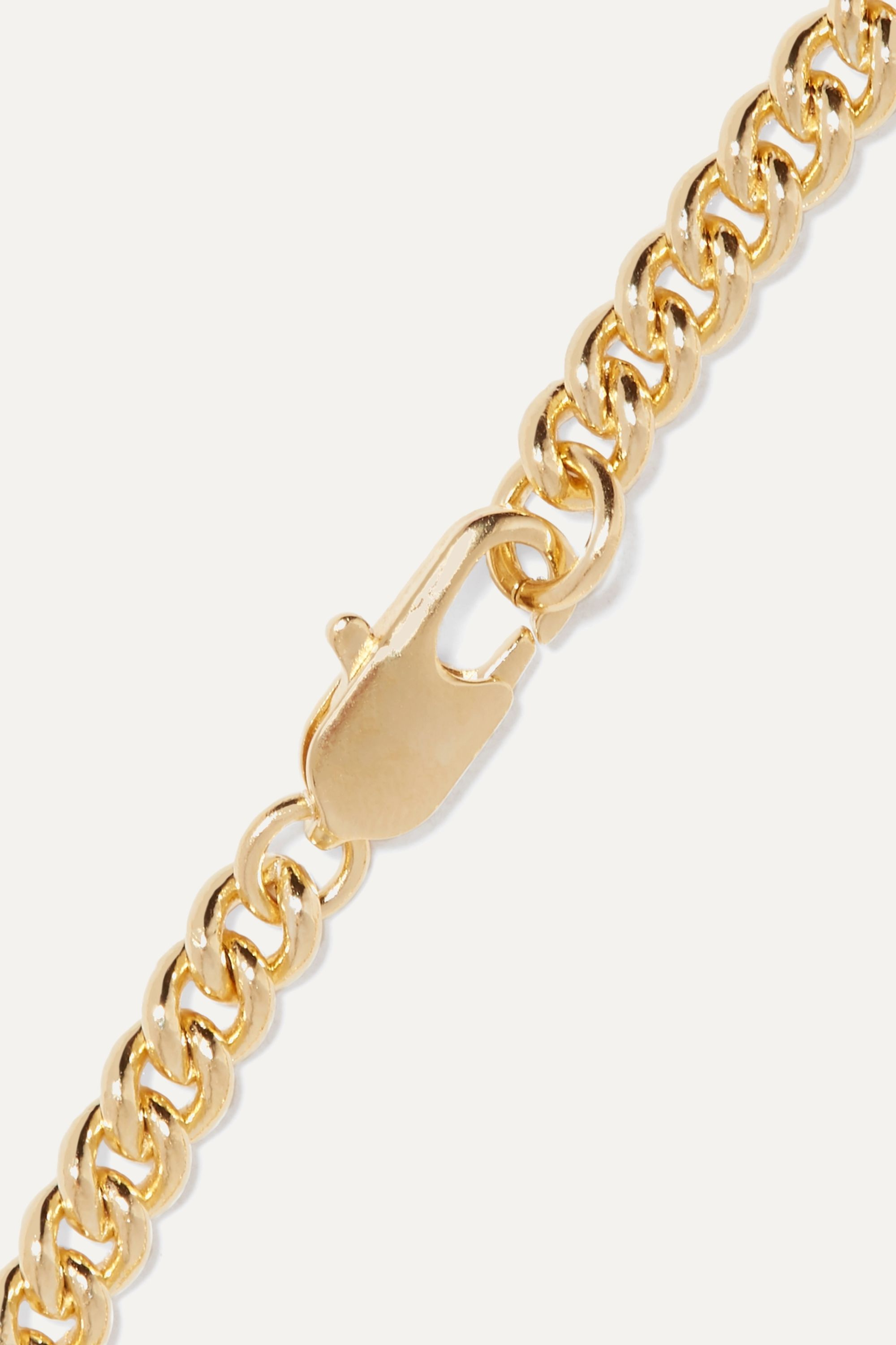 Laura Lombardi Curb gold-plated bracelet