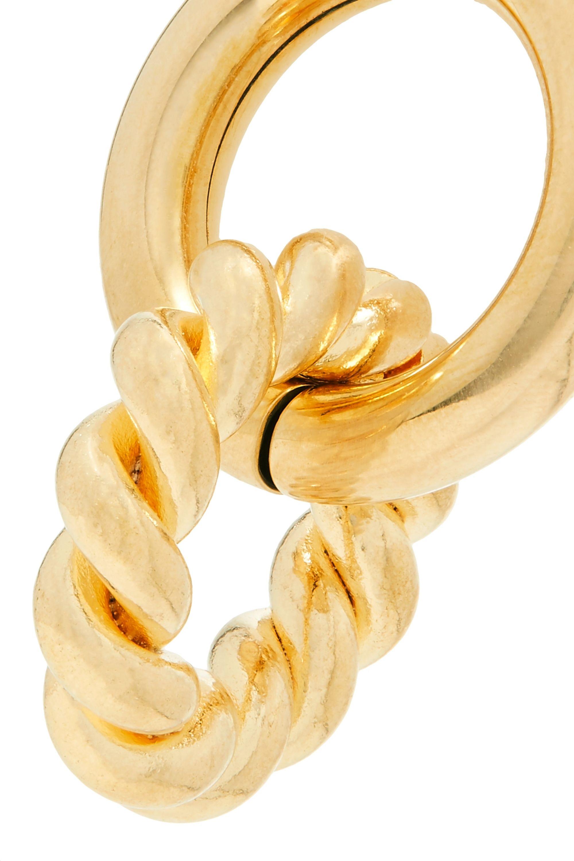 Laura Lombardi Duo gold-tone earrings