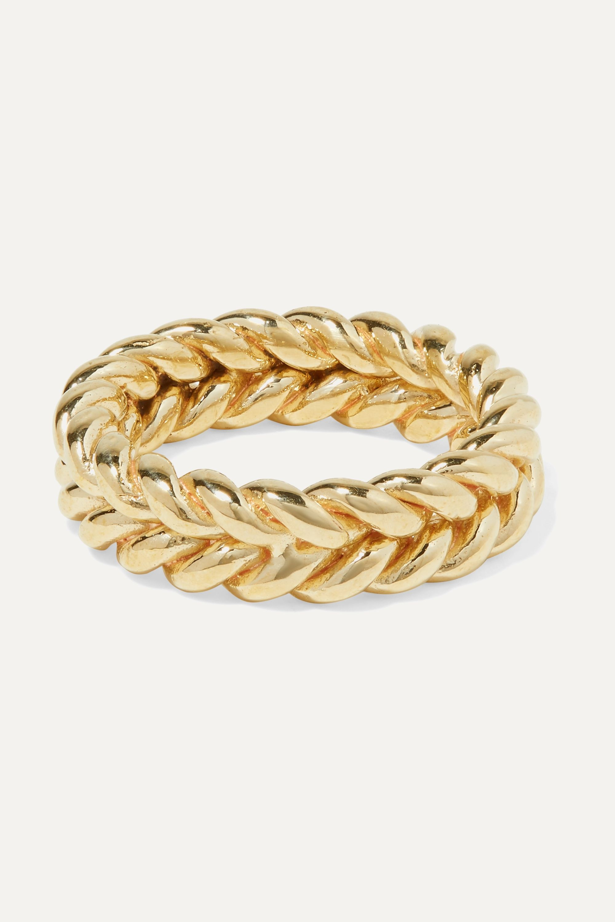 Laura Lombardi + NET SUSTAIN Grana gold-tone ring