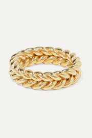 + NET SUSTAIN Grana gold-tone ring