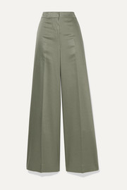 Theory Twill wide-leg pants