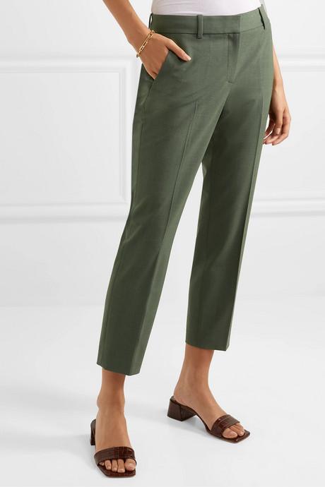 Treeca 2 wool-blend tapered pants