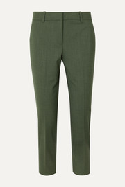 Theory Treeca 2 wool-blend tapered pants