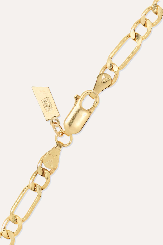 Loren Stewart 14-karat gold bracelet