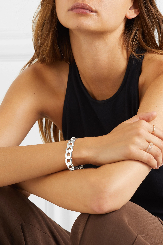 Loren Stewart XL silver bracelet