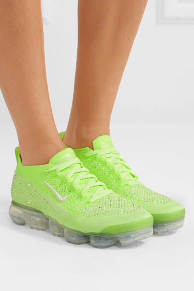 premium selection 3a2f4 066b7 Nike | Air VaporMax 2 Swarovski crystal-embellished Flyknit ...