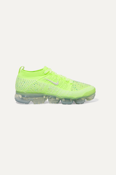 sale retailer 53622 2339c Nike   Air VaporMax 2 Swarovski crystal-embellished Flyknit sneakers    NET-A-PORTER.COM