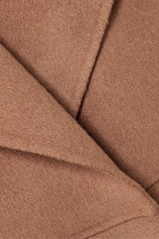 Totême Annecy 大廓形羊毛羊绒混纺外套