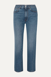 Totême Cropped mid-rise straight-leg jeans