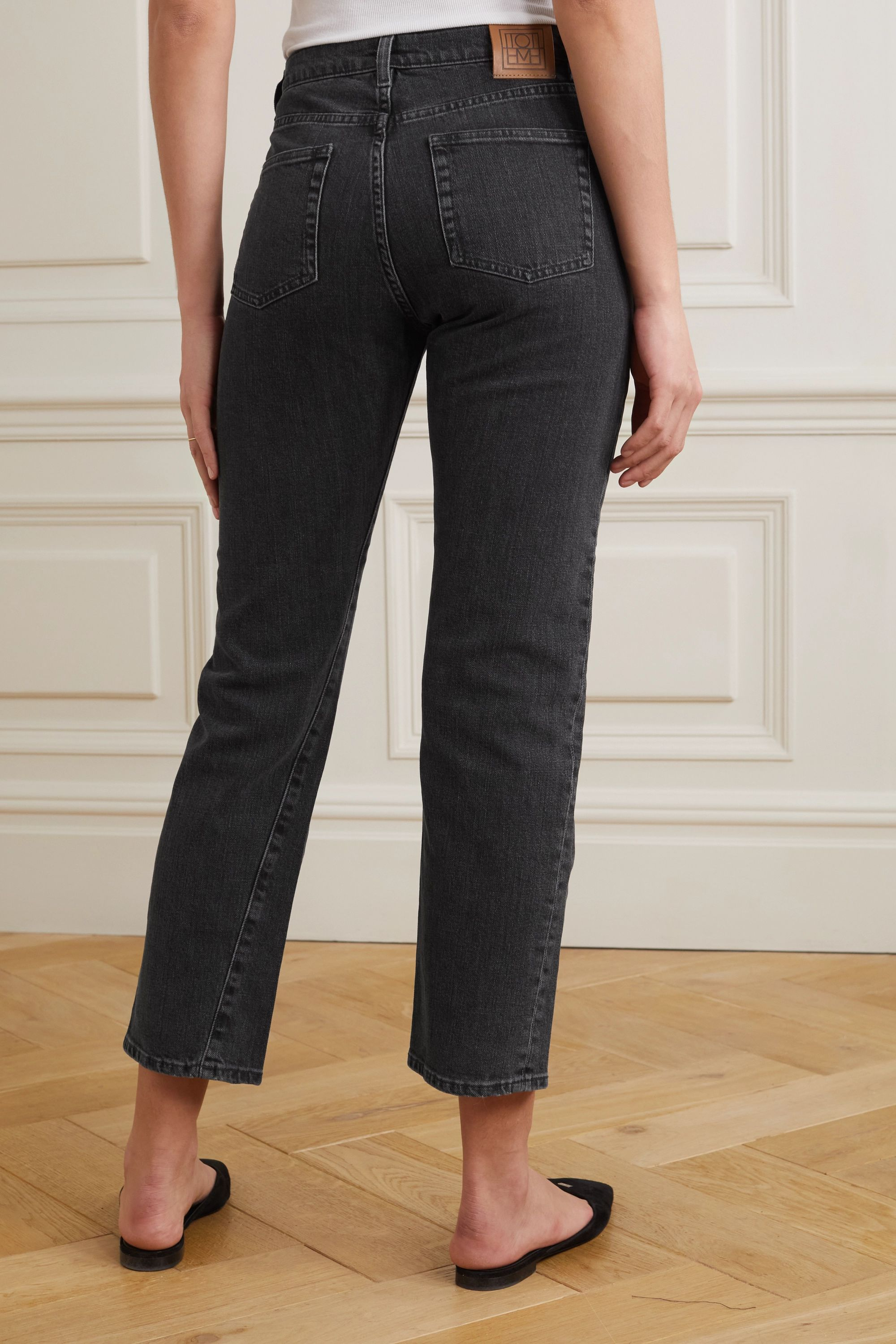 Totême Original high-rise straight-leg jeans