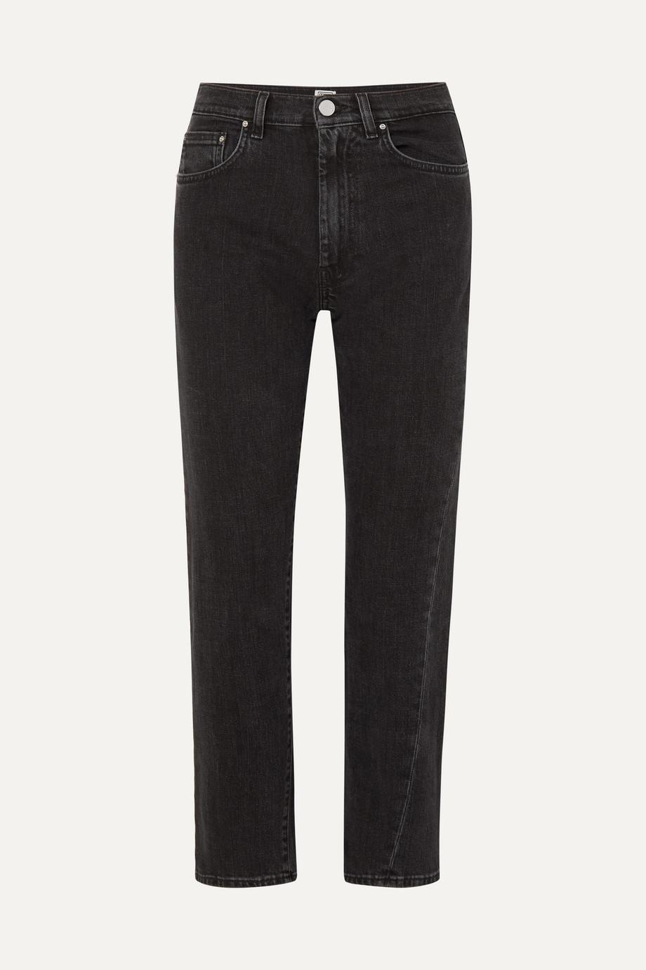Totême Original hoch sitzende Jeans mit geradem Bein