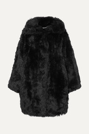 Balenciaga Swing oversized faux fur coat